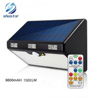 LED Solar Light Outdoor 66LED 9600mAH 1350LM High Brightness...