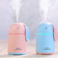 Kaninchen Design Luftbefeuchter Aroma Diffuser 5 V Lampe Licht Abgeschnitten automatisch weniger wasser Aromatherapie Nebel Maker Für Zuhause