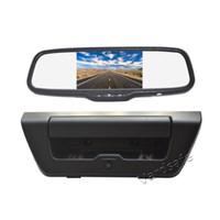 Vardsafe OE592   Moniteur de rétroviseur de voiture d'appareil-photo de secours d'OEM pour Ford F150 (2015-2018)