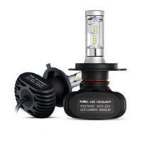 H4 / H7 / H11 / H13 / 9005 (HB3) / 9006 (HB4) Faro LED auto Faro singolo / Hi-Lo CSP Chip Faro automatico fari Lampadine fendinebbia 6500K