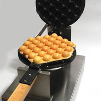 Yeni 220 V / 110 V Ticari Elektrikli Çin Hong Kong eggettes puf yumurta waffle demir maker makinesi kabarcık yumurta kek fırın Ücretsiz kargo