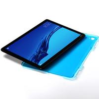10pcs ultra dünnen Kunststoff Hard PC zurück Schutzhülle für Huawei MediaPad C5 10 BZT-W09 / BZT-AL00 10,1-Zoll-Tablet-Abdeckung