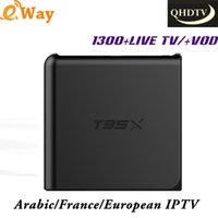 2017 NEW T95X IPTV Set Top Box Best French Europe IPTV With ...