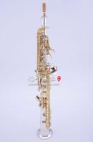 Japonya YANAGISAWA S9930 Soprano B (B) Saksafon Pirinç Gümüş Kaplama Müzik Aletleri Sax Ile Durumda, Ağızlık