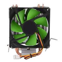 VBESTLIFE 90mm 3Pin Ventilateur double face CPU Radiateur Dissipateur thermique silencieux pour Intel LGA775 / 1156/1155 AMD AM2 / AM2 + / AM3
