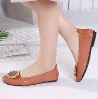 Brand women' s low heel sandals high quality flat shoes ...