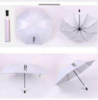 Criativo Mulheres Garrafa de Vinho Guarda-chuva 3 Dobrável Sun-chuva UV Mini Umbrella Para Mulheres Homens Presentes Chuva Umbrella