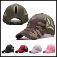 Wholesales CC Brand Hat 7 Colors Casquette Women Ponytail Ha...