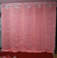 3M*3M water ripple backdrop wedding backcloth wave curtain B...