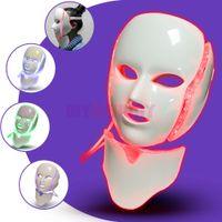 피부 젊 어 짐 주름 제거 여드름 치료 빠른 배송을 위해 여드름 치료 LED 페이셜 마스크 7 색 PDT 광자 치료 페이스 마스크