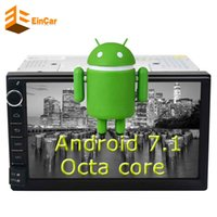 Octa-Core Android7.1 Car Audio Stereo In Dash Radio FM / AM RDS DAB + Bluetooth Touch Screen digitale WiFi GPS NAVI 2 GB RAM + 32 GB ROM