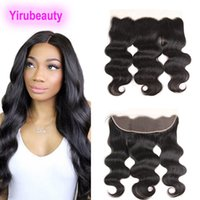 Peruvian Human Hair Body Wave 13X4 Lace Frontal 8- 20inch Fre...