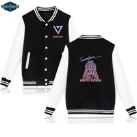 Seventeen Baseball Jackets Sweatshirts Women Men Buttons win...