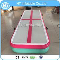 Freies Verschiffen 3 mt Länge Gymnastik Ausrüstung Multi Farbe Aufblasbare Luft tTrack Zu Hause Aufblasbare Luft Tumble Track Für Gym