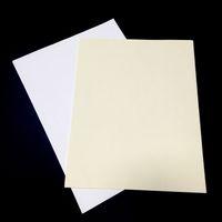 (Az MOQ) 85GSM Baskı Banknot Kağıt 75% Pamuk 25% Keten Beyaz Renk STARCHACID Fatura / Para / Sertifika için Ücretsiz Su Geçirmez