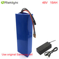 Bateria de e-bicicleta de vendas quentes 48V 15ah Li Ion Battery Battery Kit de conversão BAFANG 1000W para celular Samsung