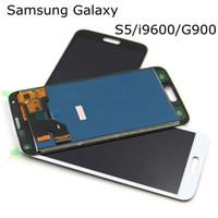 """100% probado TFT Pantalla LCD táctil de alta calidad de 5.1 """"para Samsung galaxy S5 i9600 G900F G900H G900H Asamblea de digitalizador LCD"""