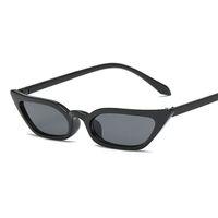 Popluar olho de gato óculos de sol mulheres pequeno quadro preto leopardo feminino top selling óculos de sol feminino uv400