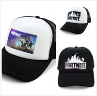 Nuevos llegados. 10 unids Fortnite Cap hombre gorra de béisbol masculino  snapback verano Respirable sombreros ... a31fb5c71a4
