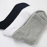 10 Pairs Calzini da uomo casual da uomo di alta qualità per uomo in cotone Brand equipaggio autunno inverno nero calzini bianchi calzini meias homens grande dimensione