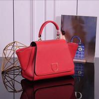 2b6951d1f3e88 Europäische und amerikanische Designer entwerfen einfache Mode Handtaschen  mit hochwertigen weiblichen Umhängetaschen mit 100% echtem