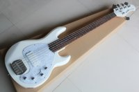 Music man StingRay 5 five strings electric bass white body r...