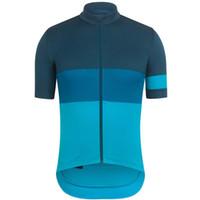 Rapha Mens Cycling Jersey de manga corta camisas Ropa de carreras de carretera Ropa transpirable Pro Team Bike Maillot Outdoorsports Uniform S21033146
