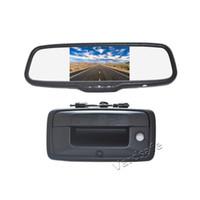 Vardsafe OE598 | Macchina fotografica di backup per auto Monitor specchietto retrovisore per Chevy Silverado 2014-2018