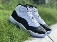 With Box+ Real Carbon Fiber XI Concord Black White 11 Basketb...