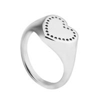 متوافق مع باندورا المجوهرات خاتم الفضة الخواتم القلب 100 ٪ 925 الفضة الاسترليني المجوهرات بالجملة DIY للنساء
