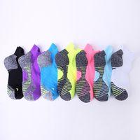 Hommes chaussettes de course respirant coton élite rapide séchage coton cheville chaussette hommes court sport sox pour le basket-ball de cyclisme en plein air