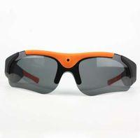 Original DV Deportes gafas de sol polarizadas Eyewear Video HD 1080P Cámara DVR 75 Degree Recorder Cam NEGRO al aire libre