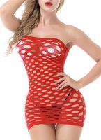 Elasticità in cotone Lenceria Sexy Lingerie Hot Mesh Bambino Doll Dress Biancheria Erotica per donna Costumi sessuali Biancheria intima a rete