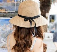 Sun Hat Women Summer Foldable Wide Straw Cap For Women Beach...