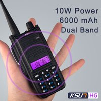 KSUN H2 Walkie Talkie H5 10W high power Dual Band Handheld T...