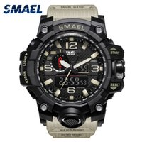 Relogio Mens Sports Watches Display LED Fashion Army Militar...