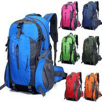 السفر في الهواء الطلق كبيرة حقيبة 40L حزمة الرياضية الترفيهية المشي خاص كتف حقيبة مع القدرة للماء إلى اتخاذ أرجوحة وكيس النوم سرير