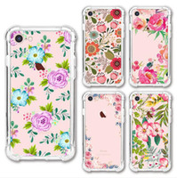 shockproof case cover mobile 1. 2mm flower paint tpu 2 in 1 f...