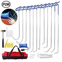 PDR Tools Neue Hooks Stößelstangen Hammer Tap unten Werkzeug-Set für Kfz-Reparatur Auto-Einbuchtung Reparatur Karosserie-Reparatursatz Hohe Qualität