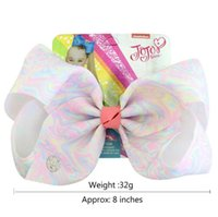 JOJO Bows New Color Baby Girl Rainbow Color 8 Inch 11 Colors...