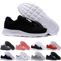 TANJUN KAISHI Triple Black White Pink London Olympic Runs Ou...
