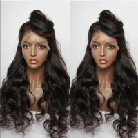 8A Grade Glueless Full Lace Human Hair Wigs Brazilian Virgin...