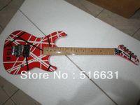 Al por mayor - Nueva llegada de la marca de guitarra 5150 RED y serie blanca ARI tremolo guitarra eléctrica envío gratis en stock