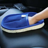 Neue Auto Washer Werkzeug 1 STÜCK Auto Waschen Sauber Schwamm Pinsel Glasreiniger Blaue Welle Autos Waschen Dreieck Hohe Qualität 15
