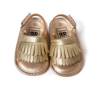 Hot Infant Baby Girl Shoes Leather Tassel Soft Bottom Crib A...