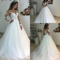 2018 New Fashion Wedding Dresses Charming Luxury Elegant Lac...