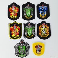 10 Designs Harry Potter Patch Badge Gryffindor Slytherin Rav...