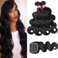 Remy 8A Brazilian Human Hair Body Wave Straight Kinky Curly ...
