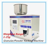 Nahrungsmittelautomatische Racking-Maschine 1-25g 220V / 110V wiegende Füllmaschine Multifunktionspacker