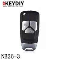 Ключ серии NB26-3 KEYDIY NB многофункциональный дистанционный для KD300 и KD900 для того чтобы произвести любой модельный remote